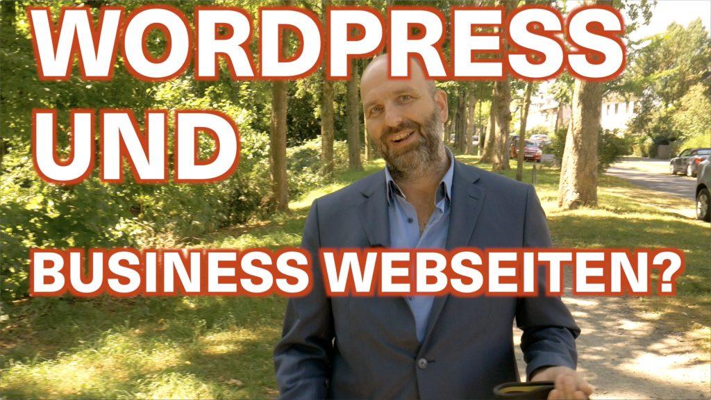 Business Webseiten mit WordPress erstellen