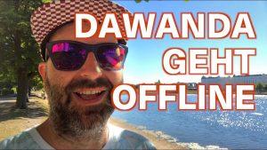Dawanda geht offline
