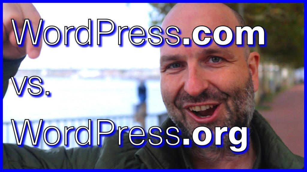 Was ist der Unterschied zwischen WordPress.com und WordPress.org ?